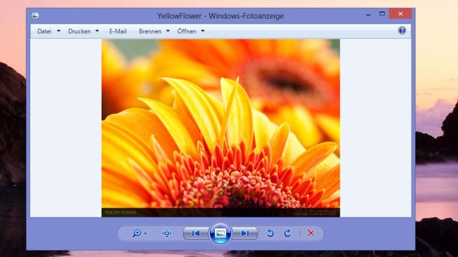 windows 7 fotoanzeige